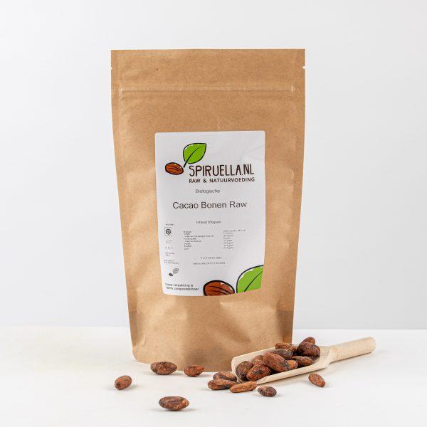 Rauwe raw cacao bonen kopen