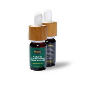 CBD olie 10% Natural Full-Spectrum Aroma | 1000 mg 10 ml
