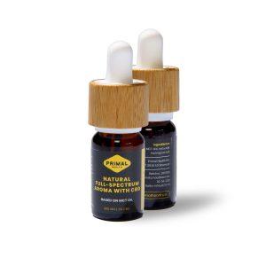 CBD olie 2% Natural Full-Spectrum Aroma | 200 mg 10ml