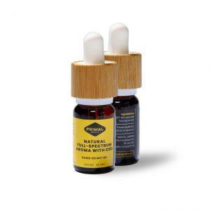CBD olie 5% Natural Full-Spectrum Aroma | 500 mg 10 ml